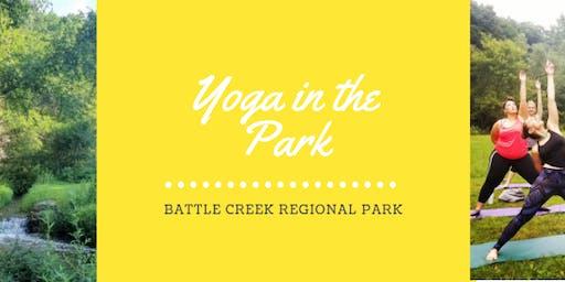 Yoga at Battle Creek Regional Park