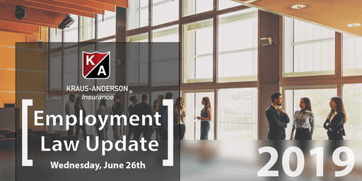 2019 Labor & Employment Law Update