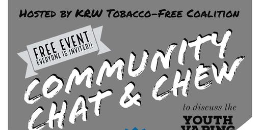 Community Chat & Chew - Youth Vaping