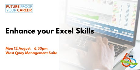 Enhance your Excel Skills [Future Proof Your Career] tickets