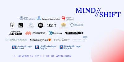 Resan mot psykisk hälsa har påbörjats - MIND // SHIFT - Mingel - Almedalen 2019