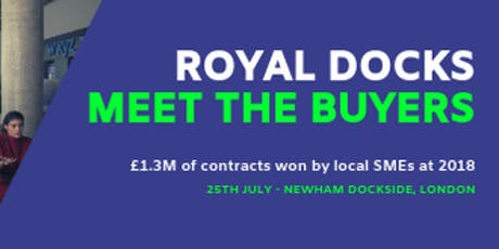 Royal Docks Meet the Buyer tickets