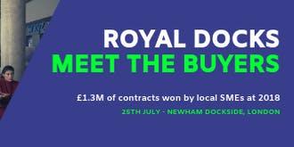 Royal Docks Meet the Buyer