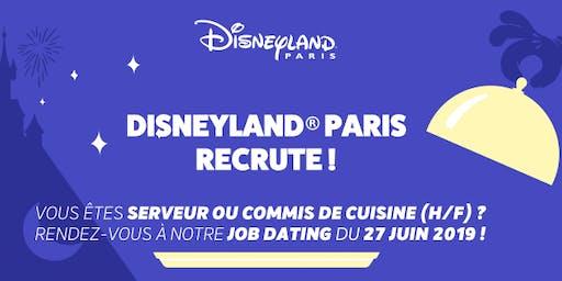 Disneyland Paris - Job Dating Commis de Cuisine et Serveurs