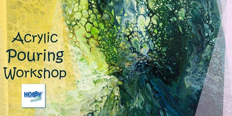 Acrylic Pouring Workshop Tickets