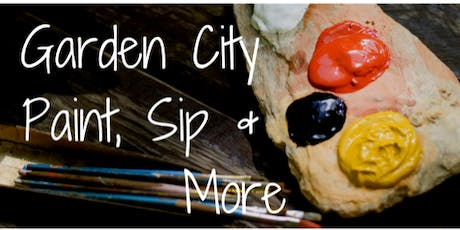 Garden City Paint, Sip and More Evening tickets