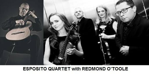 THE ESPOSITO QUARTET with REDMOND O'TOOLE (8-string Brahms guitar)