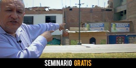 Seminario GRATIS: Cómo Invertir en Bienes Raíces con Poco Dinero  entradas