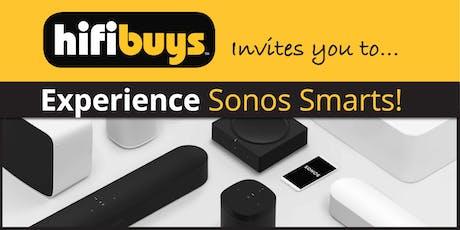 Experience Sonos Smarts! tickets
