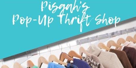 PISGAH'S POP-UP THRIFT SHOP tickets