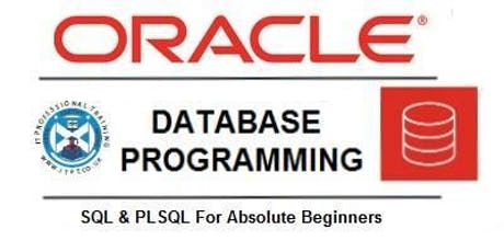 Free Oracle SQL & PL/SQL Database Design and Programming Course in Glasgow. tickets