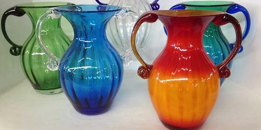 Blow Your Own 2-Handled Vase - Saturday, August 3 at 10:00am
