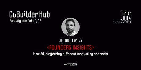 Founders Insights: How AI is effecting different marketing channels tickets