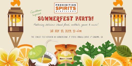 Prohibition Spirits Summerfest Party