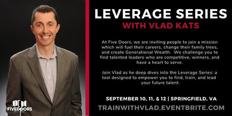 Leverage Series with Vlad Kats tickets