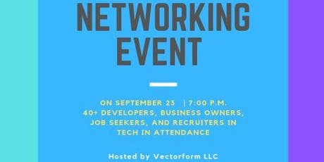 Networking Event for all IT Professionals Hosted by Vectorform tickets