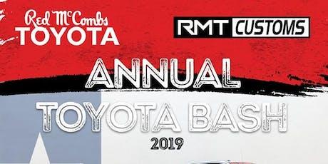 Sponsor Event: Toyota Bash Car Show  tickets