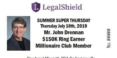 LegalShield Ontario Super Thursday - July18th2019 tickets