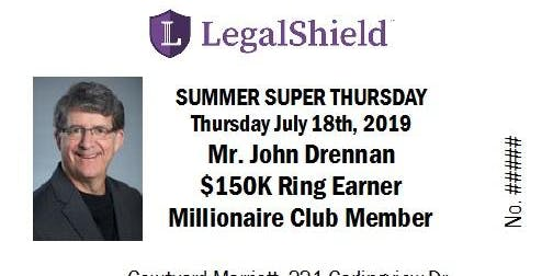 LegalShield Ontario Super Thursday - July18th2019
