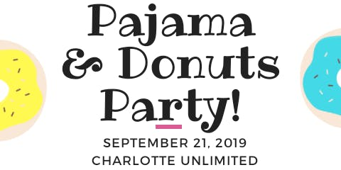 Pajama & Donuts Party