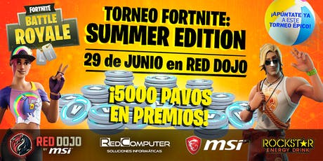 Torneo Fortnite: Summer Edition entradas