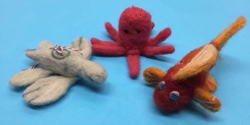 Needlefelting: Lake Monsters & Sea Creatures