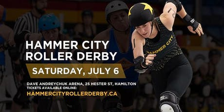 Hammer City Roller Derby July 6 Home Closer: SODA Double Header tickets