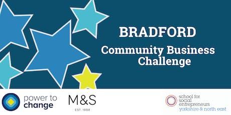 INFO SESSION: Bradford Community Business Challenge   tickets