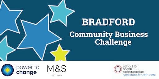 INFO SESSION: Bradford Community Business Challenge