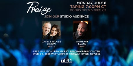 Anthony Evans Album Debut on TBN Praise! tickets
