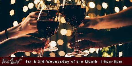 Wine & Crepe Tasting! tickets