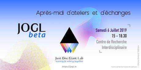 Journée de lancement de JOGLbeta par Just One Giant Lab billets