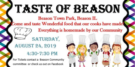 Taste of Beason tickets