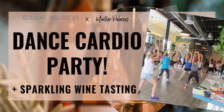 Dance Cardio Party + Sparkling Wine Tasting tickets