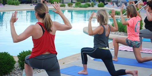 July Poolside Yoga hosted by LC Middletown & the Goat