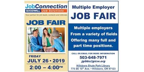 Job Fair! - Hillsboro - 7/26/19 tickets