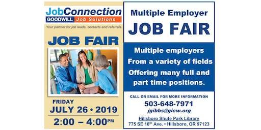 Job Fair! - Hillsboro - 7/26/19