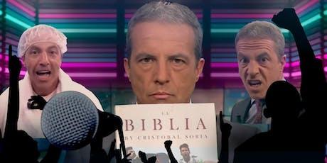 """Cristobal Soria y la """"Biblia"""" de su santidad entradas"""