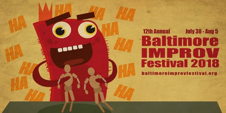 Baltimore Improv Festival Saturday Evening Pass tickets