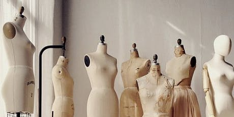 FASHION DRAPING BASICS - PART 1 | PRIVATE 3 - DAY Course | July Session tickets