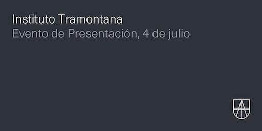 Evento presentación del Instituto Tramontana
