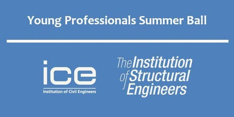 ICE and IStructE Young Professionals Summer Ball 2019 tickets