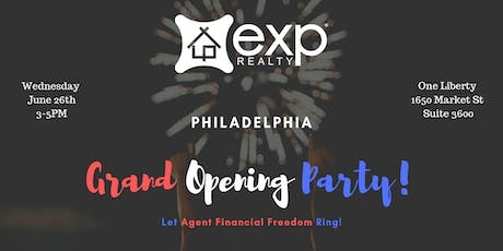 EXP Realty Philadelphia Grand Opening! tickets
