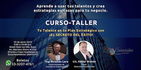 Curso Taller Tu Talento en tu Plan Estratégico es ¡El Secreto Del Éxito! boletos