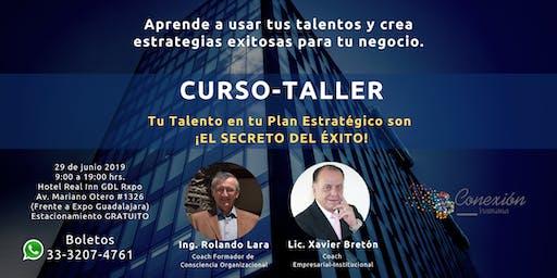 Curso Taller Tu Talento en tu Plan Estratégico es ¡El Secreto Del Éxito!