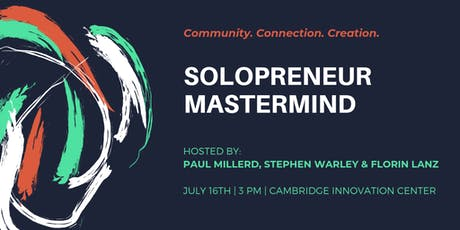 Solopreneur Mastermind Meetup tickets