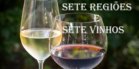 Sete Regiões - Sete Vinhos bilhetes