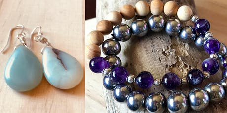 Jewelry Making with Grace & Charma tickets