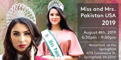 Miss and Mrs. Pakistan USA Online Voting