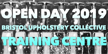 Upholstery School OPEN DAY 2019 tickets